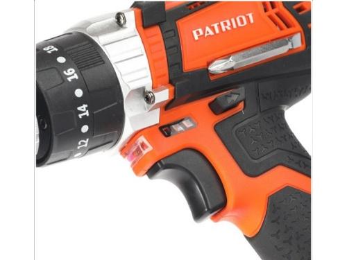 Дрель Patriot BR 241Li-h, оранжевая, вид 8