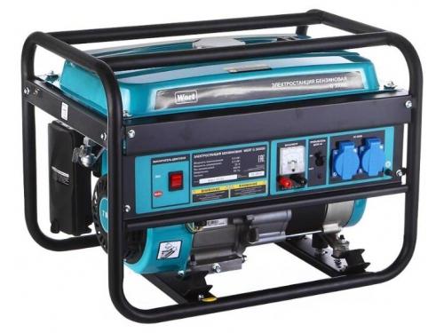 Электрогенератор Wert G 3000D, бензиновый, вид 1