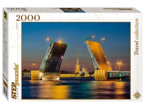 Пазл Step puzzle Travel Collection Санкт-Петербург (84026), 2000 элементов, вид 1