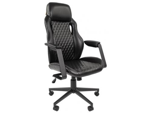 Кресло офисное Chairman 720 экопремиум черный (7022366), вид 1
