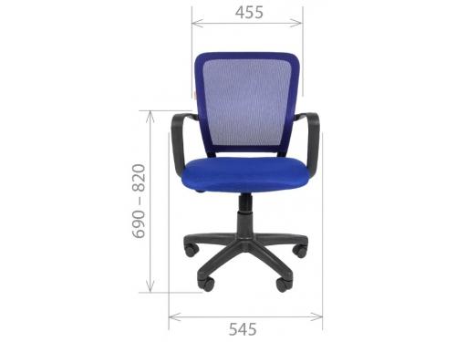 Кресло офисное Chairman 698 TW черный sl, вид 2