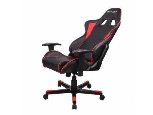 Игровое компьютерное кресло DxRacer OH/FE08/NR черное/красное, вид 5