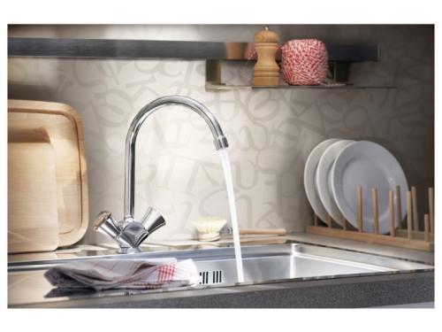 Кухонный смеситель Grohe Costa L 31831, хром, вид 4