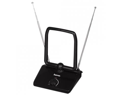Антенна телевизионная Hama H-44273 комнатная HD 40, черная, вид 1