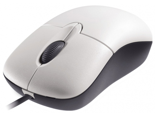 Мышь Microsoft Basic, белая, вид 1