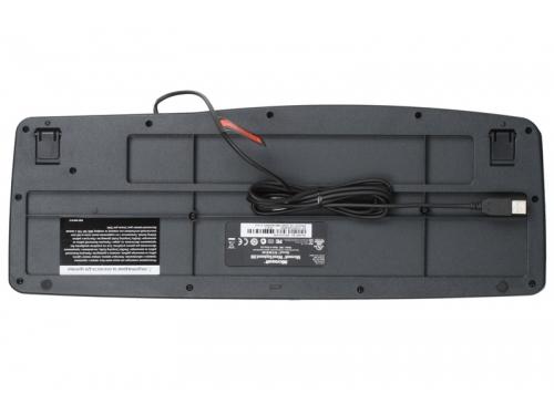 Клавиатура Microsoft Wired Keyboard 200 Black USB (JWD-00002), вид 3