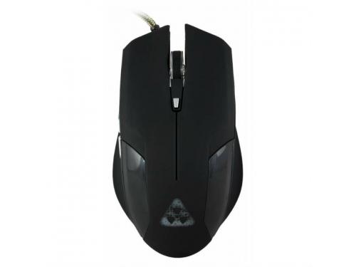 Мышка Oklick 765G Symbiont, черная с рисунком, вид 1