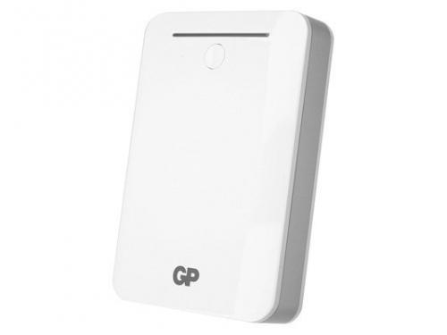 Аксессуар для телефона GP Portable PowerBank GL301WE-2CR1, белый/черный/серебристый, вид 1