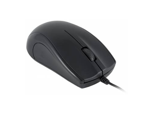 Мышка Oklick 185M USB, черная, вид 1