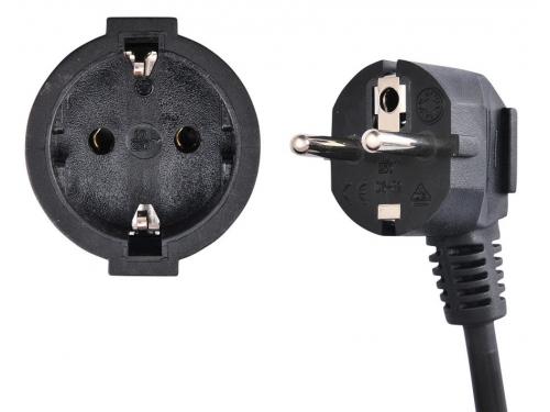 Удлинитель электрический Buro BU-PS1.5/B, черный, вид 2