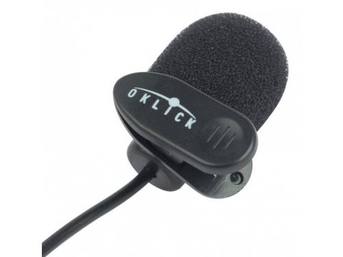 Микрофон для ПК Oklick MP-M008, черный, вид 1