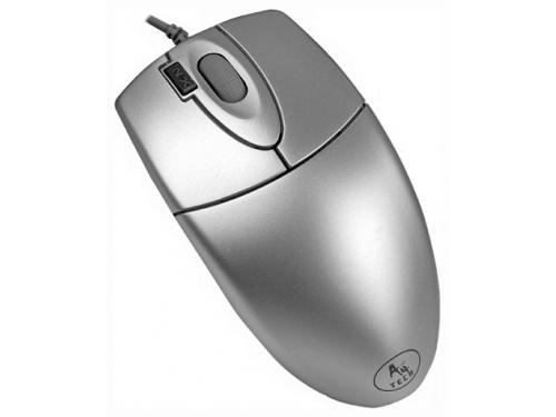 Мышка A4 OP-620D,серебристый, вид 1