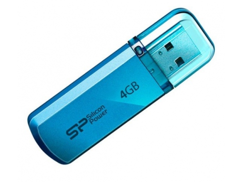 Usb-флешка Silicon Power Helios 101 4Gb, синяя, вид 1
