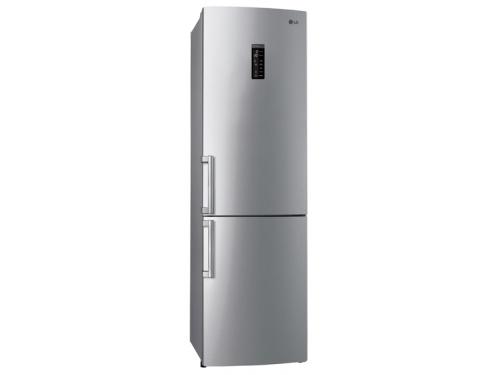 Холодильник LG GA-M539 ZMQZ, серебристый, вид 1
