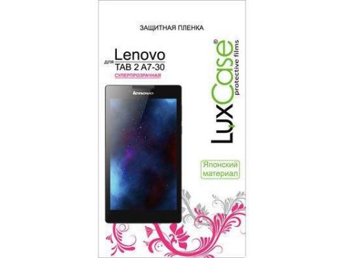 Защитная пленка для планшета LuxCase  Lenovo IdeaTab 2 A7-30 (Суперпрозрачная), вид 1