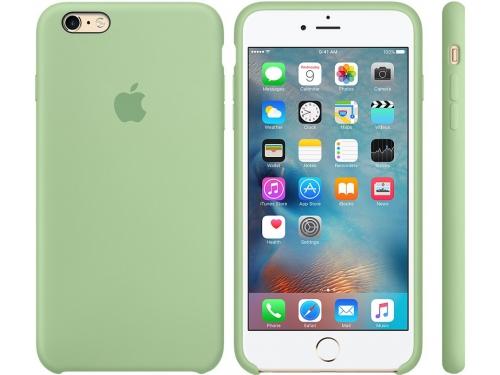 Чехол iphone Apple для Apple iPhone 6S Plus MM692ZM/A, светло-зеленый, вид 3