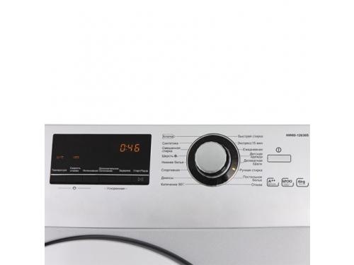 Стиральная машина Haier HW60-12636S, серебристая, вид 2