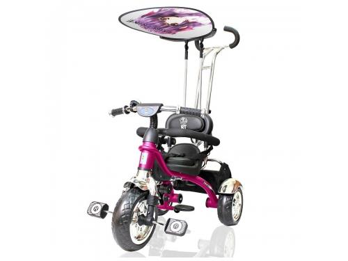 Трехколесный велосипед Lexus Trike original RT Grand Print Deluxe Розовый, вид 3