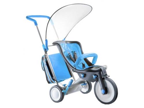 Трехколесный велосипед 3 в 1 Italtrike Evolution, синий, вид 1