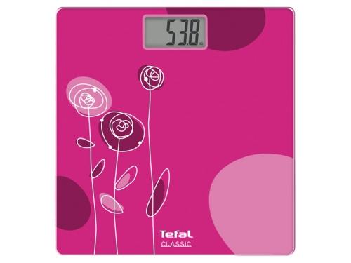 Напольные весы Tefal PP1114V0, розовые, вид 1