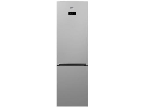Холодильник Beko CNKR5356EC0S, серебристый, вид 1