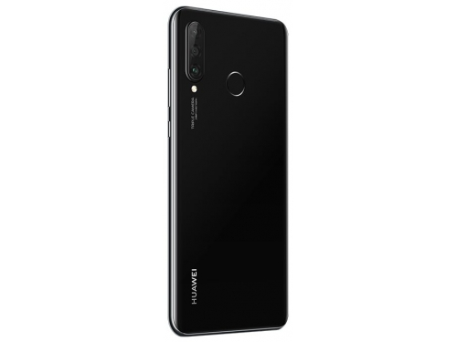 Смартфон Huawei P30 lite 4/128Gb (MAR-LX1M), чёрный, вид 3