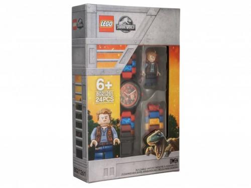 Часы наручные с минифигуркой LEGO (8021261) Мир Юрского периода, вид 1