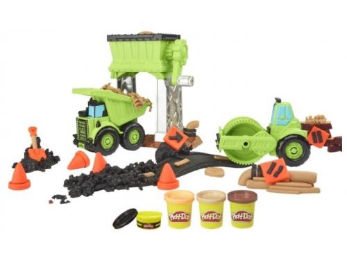 Набор для лепки игровой Hasbro Play-Doh Веселая Стройка (E4293), вид 3