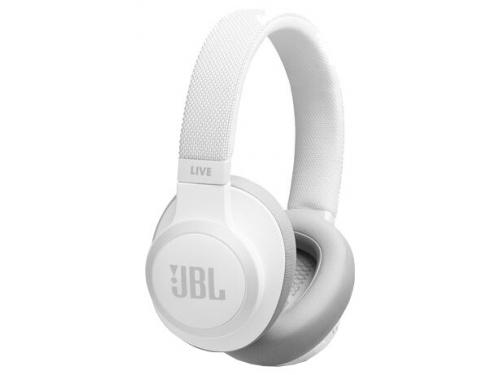 Bluetooth-гарнитура JBL Live 650BTNC белая, вид 1