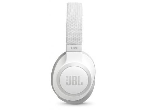 Bluetooth-гарнитура JBL Live 650BTNC белая, вид 3