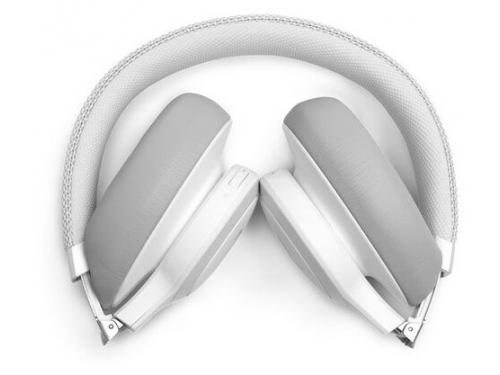 Bluetooth-гарнитура JBL Live 650BTNC белая, вид 4
