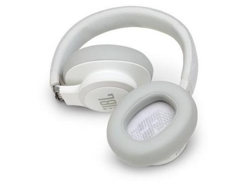 Bluetooth-гарнитура JBL Live 650BTNC белая, вид 5