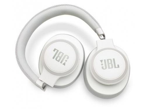 Bluetooth-гарнитура JBL Live 650BTNC белая, вид 6