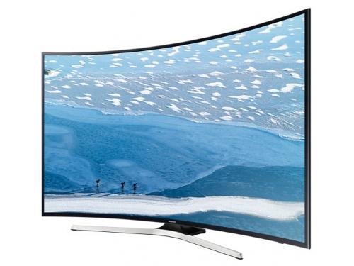 телевизор Samsung UE55KU6300UXRU (55'', 4K UHD), чёрный, вид 3