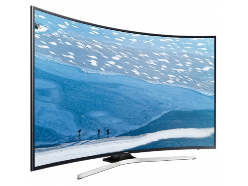 телевизор Samsung UE55KU6300UXRU (55'', 4K UHD), чёрный, вид 2