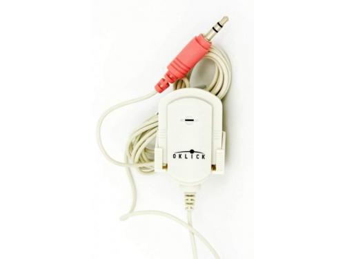 Микрофон для пк Oklick(MP-M007)белый, вид 2