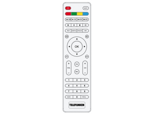 телевизор Telefunken TF-LED24S38T2, белый, вид 2