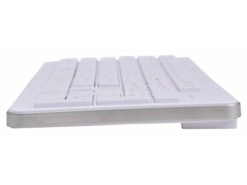 Клавиатура Oklick 540S, белая, вид 2
