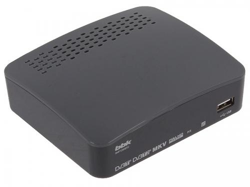 Ресивер BBK SMP129HDT2, темно-серый, вид 1