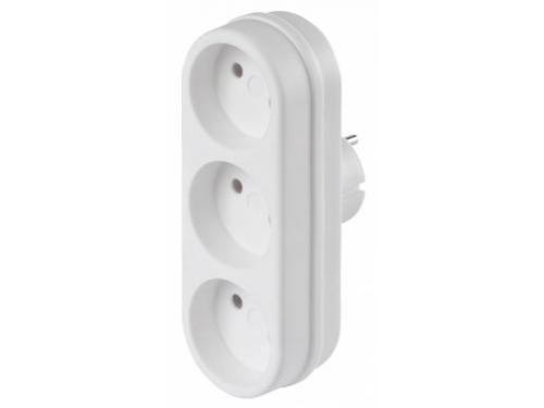 Разветвитель электропитаня Buro BU-PS3-W, белый, вид 2