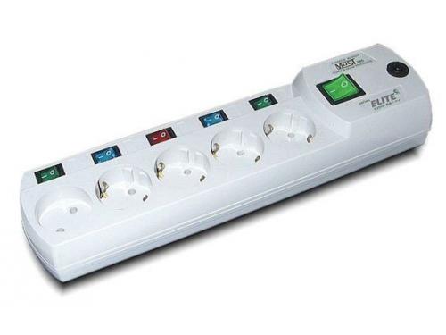 Сетевой фильтр Most ERG 2м, белый, вид 2