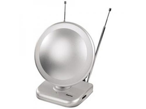 Антенна телевизионная Hama H-44283, серебристая, вид 1