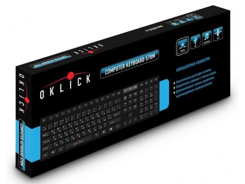 Клавиатура Oklick 540S черный, вид 2