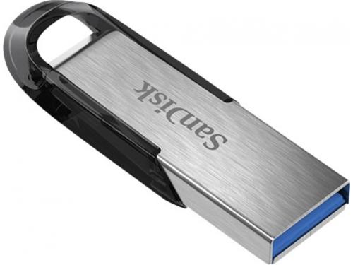 Usb-флешка Sandisk Cruzer Ultra Flair SDCZ73 - 064G - G46 серебристый/черный, вид 1
