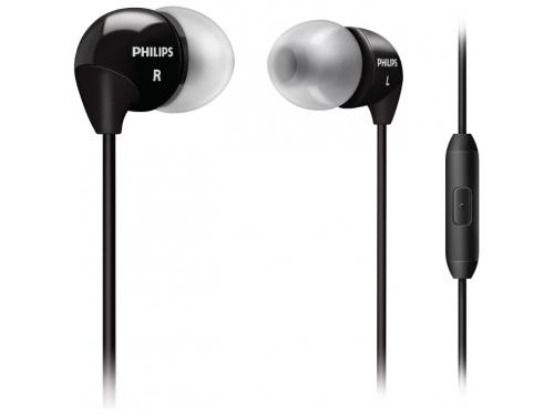 Гарнитура для телефона Philips SHE3515BK, черная, вид 1