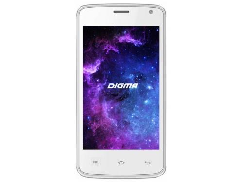 Смартфон Digma A400 3G Linx 4Gb, белый, вид 1
