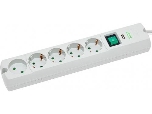 Сетевой фильтр Most LRG - USB, белый, вид 1
