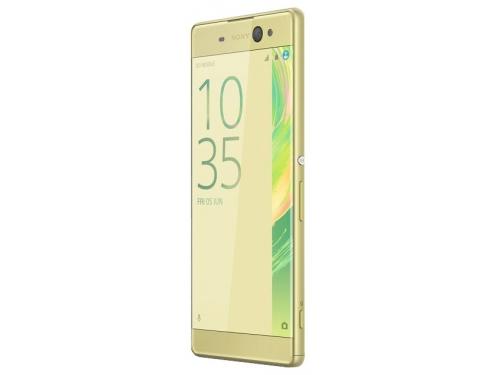 Смартфон Sony Xperia XA Ultra, золотистый лайм, вид 2