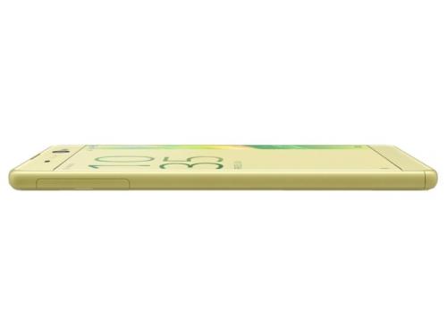 Смартфон Sony Xperia XA Ultra, золотистый лайм, вид 3