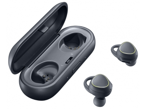 Гарнитура bluetooth Samsung Gear IconX SM-R150N BT4.1, вкладыши для правого и левого уха, чёрная, вид 2